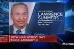 【华尔街原声】萨默斯:美国未来几年发生经济衰退的风险很大