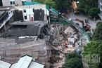 上海旧厂房改造发生垮塌事故 已造成7人死亡
