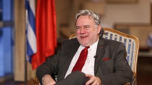 希腊外长卡特鲁加洛斯:欧中之间的人权对话应该更具建设性