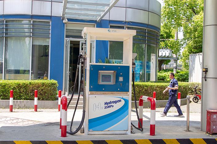 Shanghai Scales Up Hydrogen-Powered Car Development - Caixin