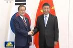 文在寅指習近平訪問朝鮮為維護半島和平作出重要貢獻
