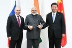 中俄印領導人會晤 習近平倡推動世界多極化