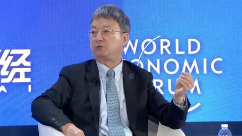 【直击达沃斯】朱民:美国对华为解禁不是释放善意,而是被逼的