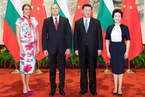 習近平同保加利亞總統拉德夫舉行會談