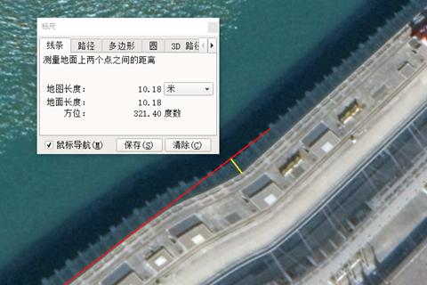 来论 网传三峡大坝卫星图为何出现变形