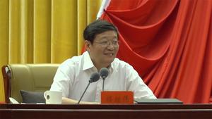 全国政协重大专项工作委员宣讲团走进内蒙古 楼继伟做报告