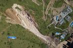 成昆铁路线四川甘洛县山体垮塌初步确认17人失联