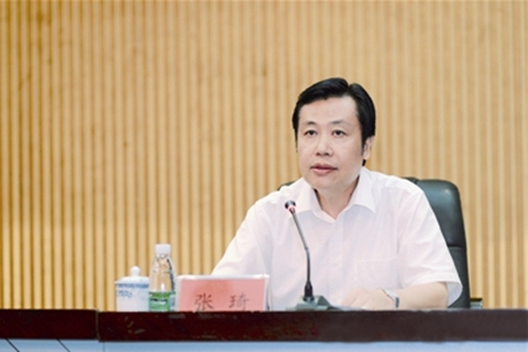 Zhang Qi. Photo: Hainan provincial government