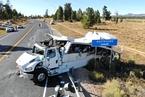 中国旅游团大巴在美国犹他州车祸 已致4死10多人受伤