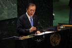 韩总统提半岛和平地带构想  朝美有望重启谈判