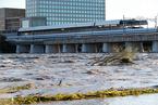 """强台风""""海贝斯""""直击日本东部 已致16死15失踪"""