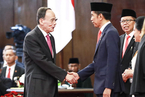 王岐山访问印度尼西亚