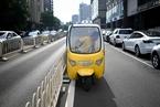 快递三轮车存隐患 北京人大代表建议用新能源物流车替代
