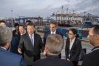 習近平與希臘總理參觀比港項目 指一帶一路不是傳說是實踐
