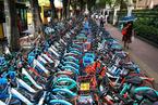 广州立法控制共享单车总量 违规企业最高罚款5万元