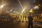 广州地陷3人被困 救济抢险仍在停止