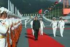 中國第一艘國產航空母艦交付海軍 習近平出席交接入列儀式
