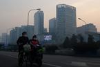 气象辐合致区域污染聚积 北京天津雾霾锁城