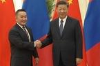 蒙古国总统会见习近平 对疫情感同身受赠华3万只羊