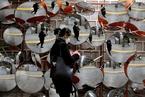 韩国确诊累计近3800例 8成症状较轻死亡达18例