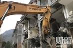 """都江堰""""联建房""""风波追踪:拆除进行中"""