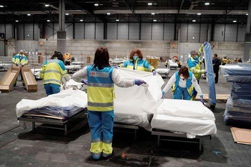 西班牙死亡人数超过中国 医护人员感染率达14%