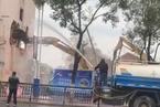 景德镇市中心突现强拆 落成不到20年公寓划入棚户区