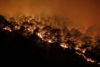 西昌大火第三次复燃 城市近在咫尺让人揪心