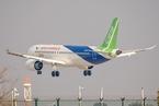 中国商飞:国产大飞机C919力争年底前取证交付