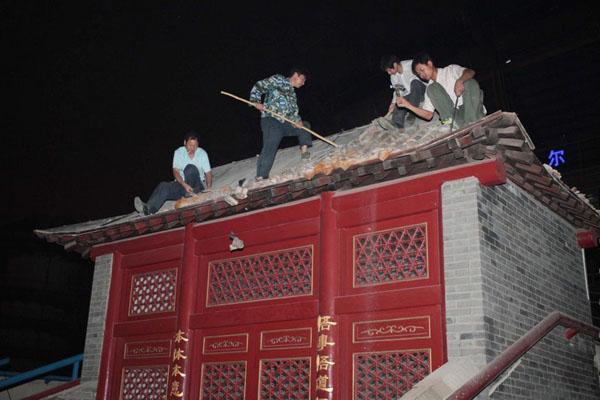 悟本堂被定性违章建筑深夜被拆