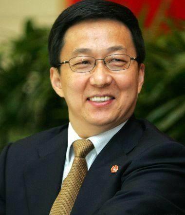 上海市委副书记、上海市市长韩正。 _浦江创新论坛2010年年会图集
