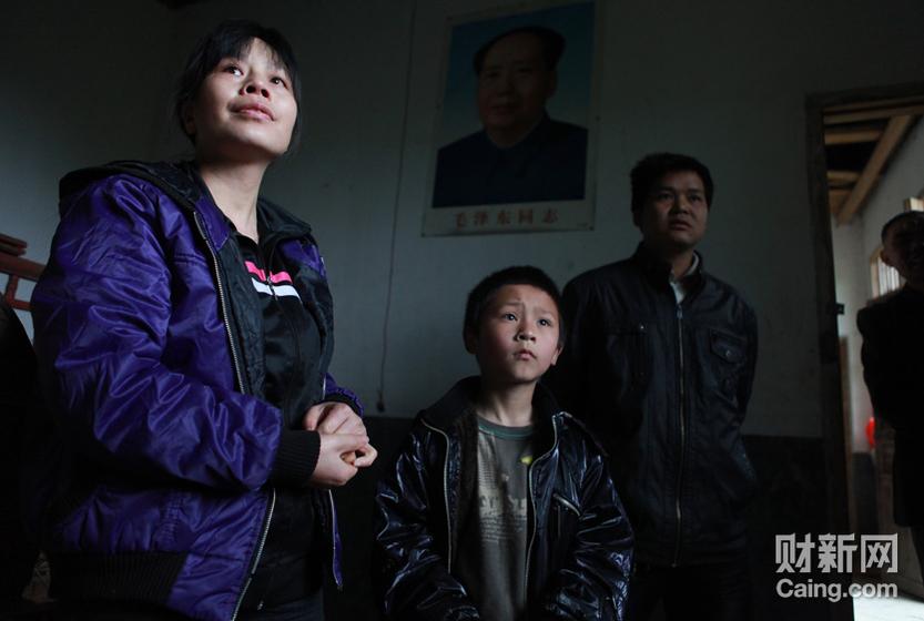 合兴村魏太喜和他的妻子是幸运的,他们的儿子魏海龙最后还是回来了。 财新记者 李漠 摄 _邵氏弃儿