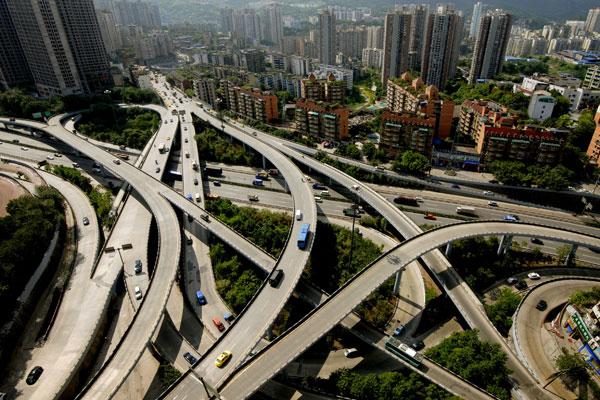 2010年09月15日,重庆杨公桥。宋明琨/CFP _命悬平台贷款