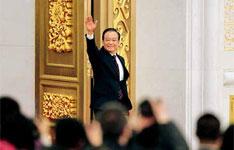 """3月14日,温家宝总理在记者会上的开场白,带有""""告别演说""""的味道。"""