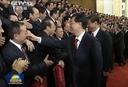 胡锦涛、习近平会见党代表