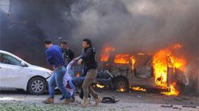叙利亚首都发生剧烈爆炸