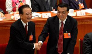 全国人大决定李克强为国务院总理