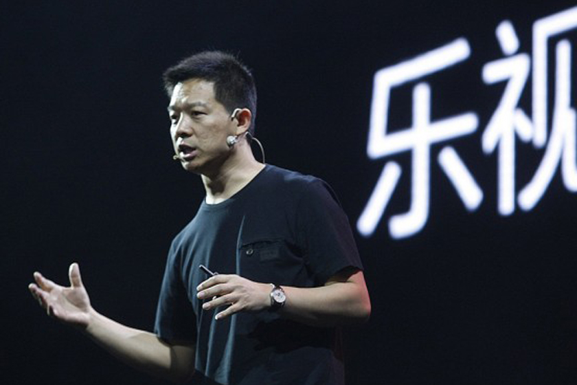 Jia Yueting (above), founder and CEO of LeEco, said the company's cash problem is more severe than expected. Photo: CFP