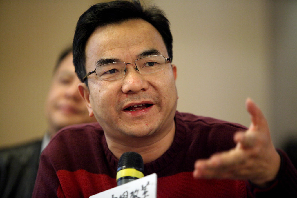 Professor He Bing from China University of Political Science and Law