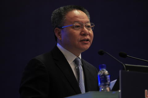 Shen Xiaoming, the party secretary for Pudong New Area