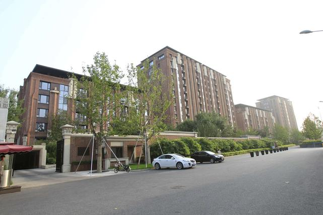 The Diaoyutai No. 7 residential development in Beijing's Haidian District on August 11