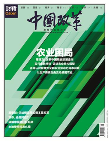 《中国改革》第387期