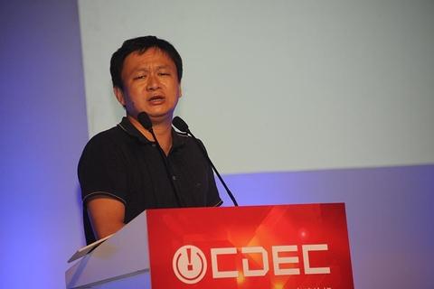 Beijing Kunlun Tech's Chairman Zhou Yahui. Photo: Visual China
