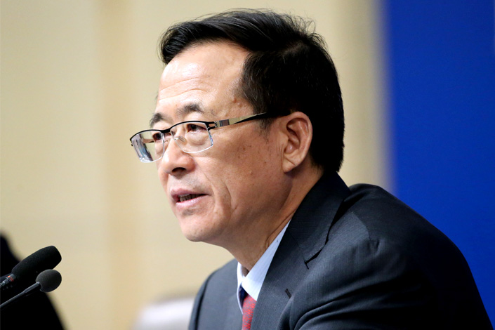 Liu Shiyu, chairman of the China Securities Regulatory Commission. Photo: IC