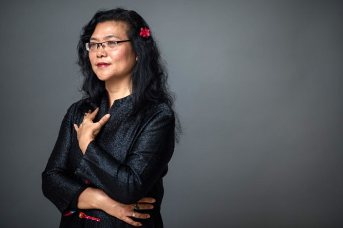 Author Lijia Zhang