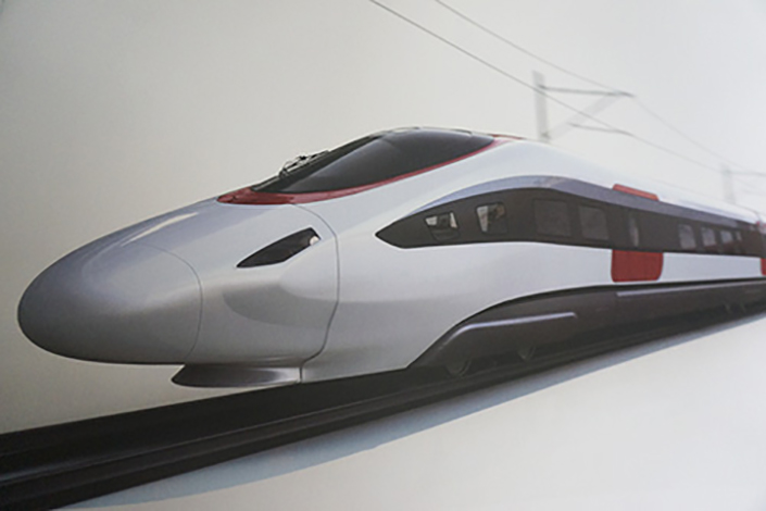 So-called flexible trains, which can have carriages added or removed from a train on demand, will be on the market later this year. Photo: CRRC