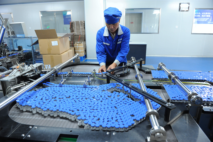 Global and local pharmaceutical firms are likely to benefit from inclusion of more of their products in China's updated catalog of drugs eligible for reimbursement under insurance programs. Photo: Visual China
