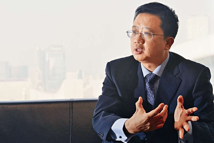 Liang Xinjun, CEO and vice chairman of Fosun Group, has resigned after a quarter-century at the helm of the company. Liang cited health reasons as the reason for his departure. Photo: IC