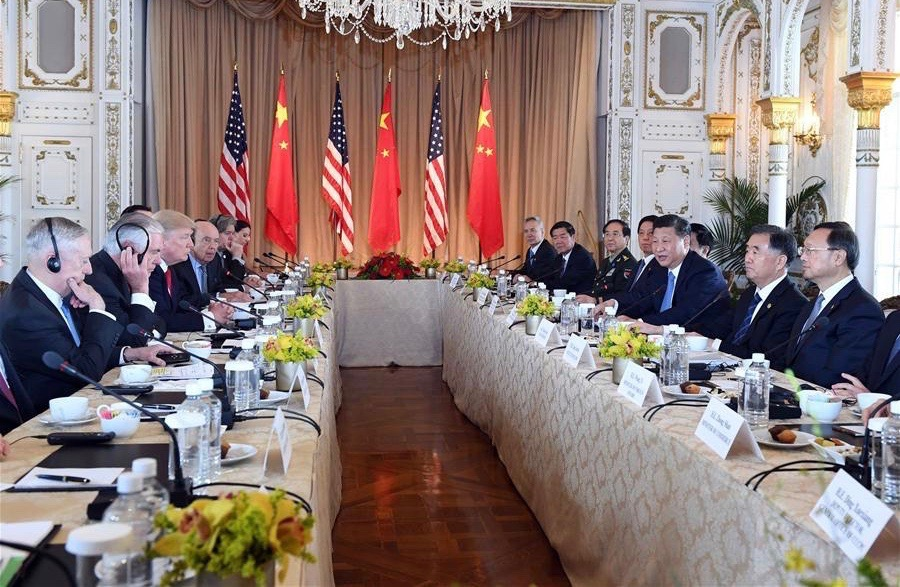 President Xi Jinping and U.S. President Donald Trump have agreed to a new framework for bi-lateral economic and security talks during their two-day meeting in Florida, U.S. despite Trump's tough talk during his election campaign.