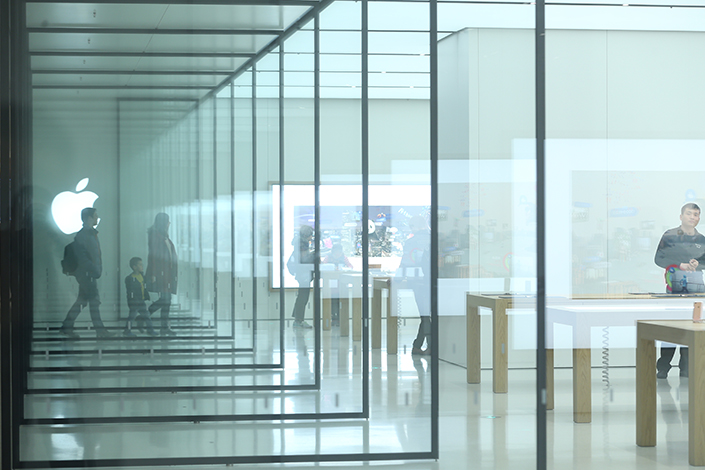 As of Thursday in China, Apple had yet to comment on a Beijing Cyberspace Administration summons the tech giant was issued two days earlier over its livestreaming apps. Photo: IC